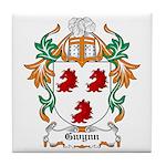 Gwynn Coat of Arms Tile Coaster