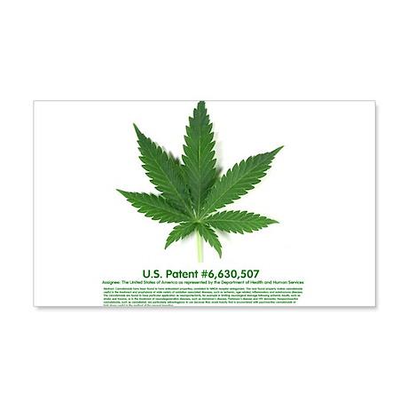 U.S. Patent 6,630,507 20x12 Wall Decal