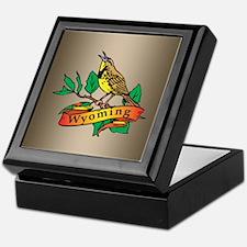 Wyoming Meadowlark Keepsake Box
