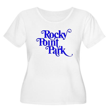 Rocky Point Park Logo - BLUE Women's Plus Size Sco