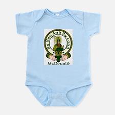 McDonald Clan Motto Infant Creeper