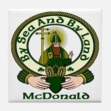 McDonald Clan Motto Ceramic Tile