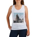 Grunge Wisconsin Flag Women's Tank Top