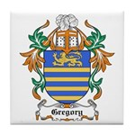 Gregory Coat of Arms Tile Coaster