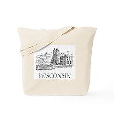 Vintage Wisconsin Tote Bag
