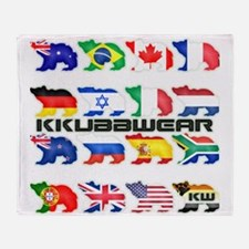 KW BEAR PRIDE Throw Blanket