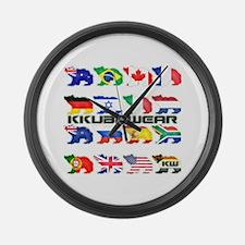 KW BEAR PRIDE Large Wall Clock