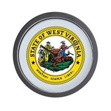 West Virginia State Seal Wall Clock