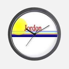 Jordon Wall Clock