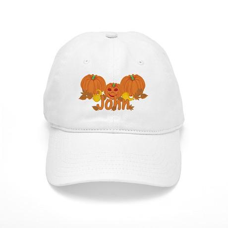 Halloween Pumpkin John Cap