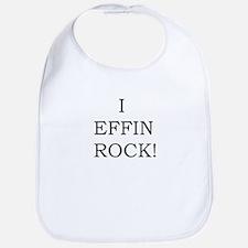 I EFFIN ROCK! Bib
