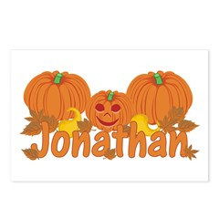 Halloween Pumpkin Jonathan Postcards (Package of 8