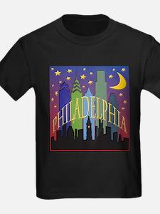 Philly Skyline rainbow T