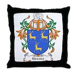 Greene Coat of Arms Throw Pillow
