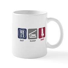 Eat Sleep Shop Mug