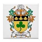 Greaghan Coat of Arms Tile Coaster