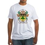 Greaghan Coat of Arms Fitted T-Shirt
