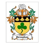 Greaghan Coat of Arms Small Poster