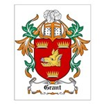 Grant Coat of Arms Small Poster