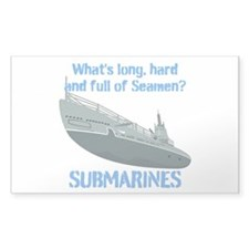 Navy Seaman Submarines Decal