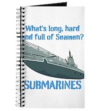 Navy Seaman Submarines Journal