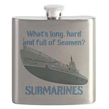 Navy Seaman Submarines Flask