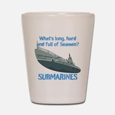 Navy Seaman Submarines Shot Glass