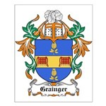 Grainger Coat of Arms Small Poster