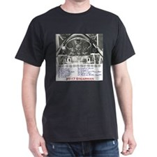 PT-17 Stearman Panel T-Shirt