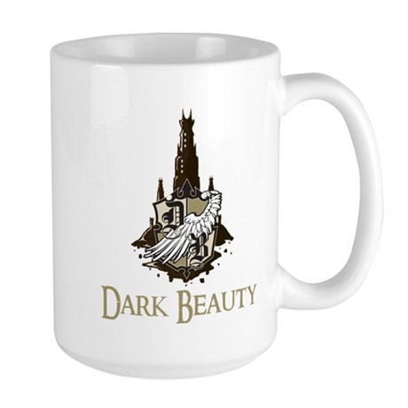 Dark Beauty Logo Large Mug
