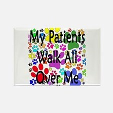 My Patients Walk All Over Me (Veterinary) Rectangl