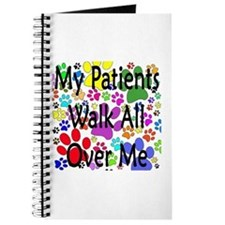 My Patients Walk All Over Me (Veterinary) Journal