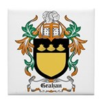 Grahan Coat of Arms Tile Coaster