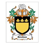 Grahan Coat of Arms Small Poster