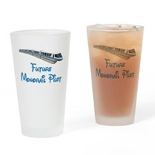 Future Monorail Pilot Drinking Glass