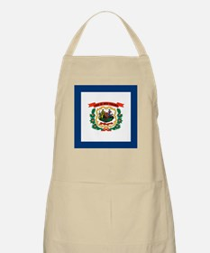 West Virginia Flag Apron