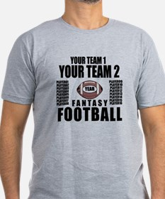 YOUR TEAM FANTASY FOOTBALL PERSONALIZED T