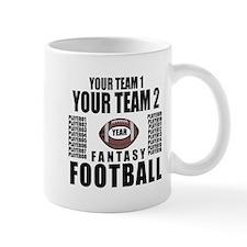 YOUR TEAM FANTASY FOOTBALL PERSONALIZED Mug