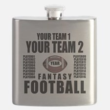 YOUR TEAM FANTASY FOOTBALL PERSONALIZED Flask