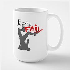 Epic Fail Type 1 Large Mug
