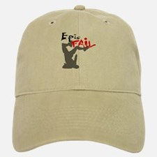 Epic Fail Type 1 Baseball Baseball Cap