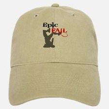 Epic Fail Type 2 Baseball Baseball Cap