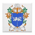 Gorman Coat of Arms Tile Coaster