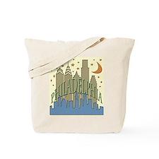 Philly Skyline beachy Tote Bag