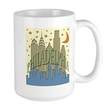 Philly Skyline beachy Mug