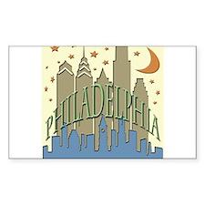 Philly Skyline beachy Decal