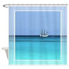 U.S. Coast Guard Cutter Shower Curtain