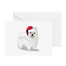 Christmas Pomeranian Greeting Cards (Pk of 20)