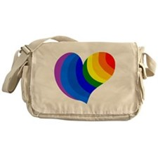 Rainbow Heart, gay and lesbian, lgbt support, pfla