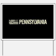 Black Flag: Pennsylvania Yard Sign